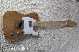 gitarren telecaster Rabatt Großhandel neue Art Telecaster Gitarre Ameican Standard Tele E-Gitarre mit goldenen gelben goldenen Accessoires