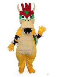 2019 vestido de dinossauro adulto Hot new Super Mario Dragão Dinossauro Traje Da Mascote Dos Desenhos Animados Fancy Party Dress Halloween Carnaval Trajes Adulto Tamanho desconto vestido de dinossauro adulto