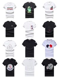 2019 rotoli di panno di cotone T-shirt da uomo 100% cotone marca estate hip hop moda stampa a manica corta in esecuzione casual o-collo uomo t-shirt uomo casual tshirt