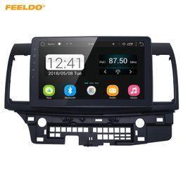 gps mitsubishi lancer Desconto FEELDO Tela de 10 polegadas HD Android 6.0 Quad Core Media Player Do Carro Com GPS Rádio Navi Para Mitsubishi Lancer EX (2007-presente CY2A-CZ4A) # 5269