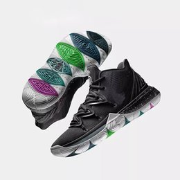 d782cfc3a5dc Mens 5s Taco Black Magic Kyrie Basketball Shoes Just Do It Multi-Color CNY  Bruce Lee Irving 5 Men Sneakers Chaussures Zapatillas 40-46
