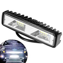 Conjunto de luz antiniebla online-2Pcs Car LED Work Light 12V para SUV Off Road Fog Light Car Assembly Durable Hot Spotlight Fog Driving Lighting Lamp