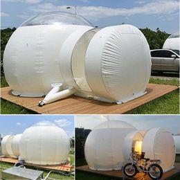 2019 toldos de coches carpas SGODDE 3m inflable Eco Home Tienda de bricolaje Casa de Lujo Cúpula acampar cabina burbuja plataforma al aire