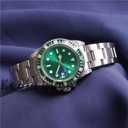 grüne uhren automatisch für männer Rabatt Womens Dress Watches Men New 2813 Mechanische Edelstahl-Automatikuhr Green Watch Casual Business Hulk Armbanduhren Montre New