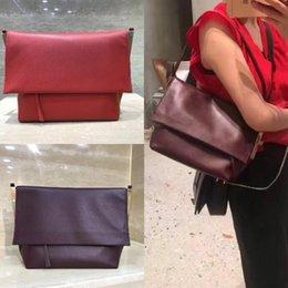 Porte-monnaie vintage en Ligne-Sacs à main de marque de marque FLAP CLASP femmes Messenger Bag vintage bandoulière sac à bandoulière sac à main top qualité sacs en cuir véritable pour dames