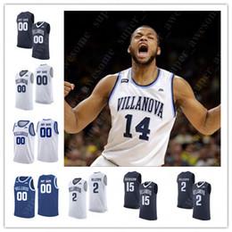 jersey villanova Rebajas NCAA Villanova Wildcats Camisetas de baloncesto Phil Booth Eric Paschall Collin Gillespie Saddiq Bey Jermaine Samuels Joe Cremo Cole Swider