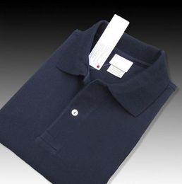Рубашка поло онлайн-Hot luxury New Brand Polo Shirt Men Short Sleeve Casual Shirts Man's Solid classic t shirt Plus Camisa Polo