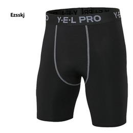 calzoncillos cortos para hombre Rebajas Hombres Niños Pantalones cortos negros para correr Pantalones cortos de capa base de compresión Pantalones cortos UnderWear Ropa deportiva PRO Elasticidad elástica