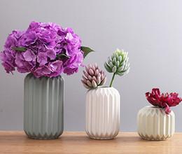 Insieme all'ingrosso del vaso online-Vasi di lusso in porcellana di nuova progettazione e di alta qualità all'ingrosso (1 set 3 pezzi) per decorazioni per la casa e l'ufficio
