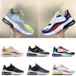 2019 zapatos frescos para correr Lo nuevo 2019 React Bauhaus Optical Men Women Running Shoes Triple negro blanco fresco gris para hombre entrenadores Hyper Jade diseñador zapatillas de deporte tamaño 36-45 zapatos frescos para correr baratos