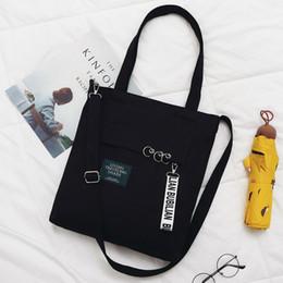 Fashion Zipper Women Messenger Handbags 2019 New Hot Soft School Students  Book Bag Canvas Bags Shoulder Bags ca282f8ee6cb3