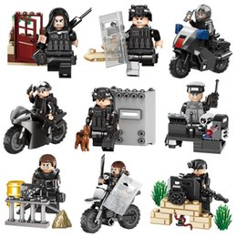 Model Building 653001 Special Force Military Soldiers Motorcycle Ww2 Action Figure Model Doll Building Blocks Brick Toys For Kids Boys Children Toys & Hobbies