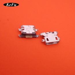 reparación de puerto micro usb Rebajas 20 unids / lote micro mini jack conector USB puerto de carga para huawei y625 para lenovo A378t piezas de reparación de reemplazo