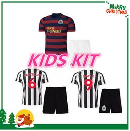1daf7cbe4 18 19 kit infantil Newcastle United Soccer Jersey Lascelles Shelvey Gayle  Ritchie Atsu Ayoze 2018 2019 camiseta de fútbol