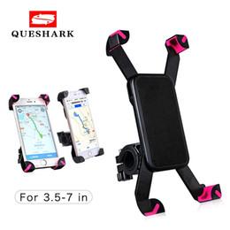 2019 красный m мобильный Универсальный держатель для телефона на велосипеде с подставкой для руля для iPhone 8 7 5 SE Кронштейн для телефона на велосипеде для Samsung S8 S7 # 334090