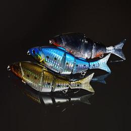 """Nouveaux leurres de pêche réalistes en Ligne-swimbait leurres Brand New 12.5cm / 5 \ """"21g Bionic Leurre Multi Articulé Lifelike Dur Appât Swimbait Pour Facile Équipement de Pêche"""