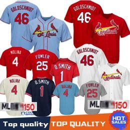 5a19e8b03e2 2019 cardenales jerseys 46 Paul Goldschmidt St. Louis Cardinals Béisbol Jersey  1 Ozzie Smith 4