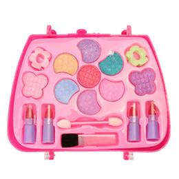 Ko online-Kinder Mädchen Simulation Schminktisch Make-Up Spielzeug Kosmetik Party Performances Dressing Box Set für Mädchen Kind Spielzeug Sicherheit