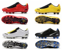 size white gold band Promo Codes - Total 90 Laser I SE FG 2019 New mens Football Shoes boots Black Yellow White trainers chaussure Fashion men Soccer Cleats Size 39-45