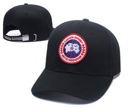 alumni gold cap Rebajas Moda Canada Baseball Cap Hombres Mujeres Outdoor classic Designer Sport Gorras de béisbol Hip Hop icon Ajustable Snapback Hat Nuevo Casual ganso Hat