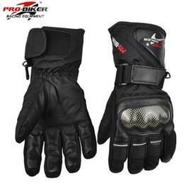 2019 guanti da moto invernali Guanti da motociclista Pro-Biker Guanti in pelle impermeabili Guanti da moto invernali da moto caldi Guanti da moto da moto da motocross guanti da moto invernali economici