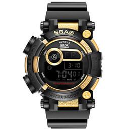 Relógios vermelhos para meninos on-line-2019 Moda de Luxo Display Sport Watch Crianças relógio de moda Red led Boy menina fornecedor de electricidade relógios de Estudante eletrônico
