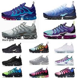 nike air max plus tn vapormax TN plus Chaussures de course multi Hyper Violet Ice Bleu Gris clair Hornets Noir Or Aurora Formateurs vert Vapeurs