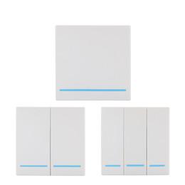 Drahtlose 433 MHz Universal-Funkfernbedienungsschalter AC 110 V 220 V 1-KANAL-Relaisempfängermodul Wandkonsole RF-Fernbedienungen von Fabrikanten