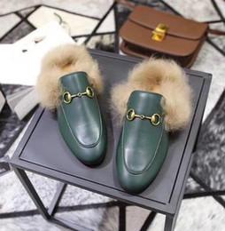 Мужские волосы кролика онлайн-женская мужская повседневная обувь женская мужская уличная женская тапочки балетки с кроличьей шерстью тапочки горки туфли мулов обувь женщина мужчина удобная h3