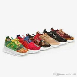 2019 vesace nuevo diseñador original con caja Reacción en cadena reacción en cadena hombre zapatos zapatos moda para hombre para mujer diseñador sandalias zapatos desde fabricantes
