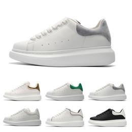haut cuir Promotion Nouveau ACE Designer chaussures Hommes Femmes Casual Chaussures De Haute Qualité Hommes Femmes Sneaker En Cuir Falt Chaussures 3 M Reclective Sneakers Tennis 36-44