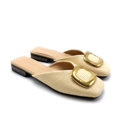 9f5776c8f7f 2019 womens andals cream slipper shoes hot fashion shoes with eva bottom  heeled sandal platform open toes hot sale version
