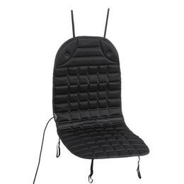 12v sitzheizung online-Farbe: Schwarz 12V Beheizter Autositzkissenbezug Winter-Haushaltssitzheizungswärmer Passt in alle verschiedenen Größen von Autos oder RV-Sitzen