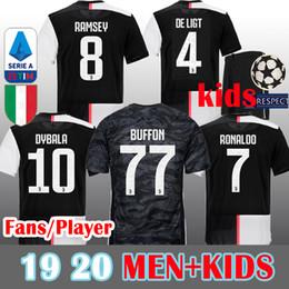 16c270439ae49 2019 maillot de joueur de football MEN + Kids 19 20 Soccer Jersey Juventus  Maillot de