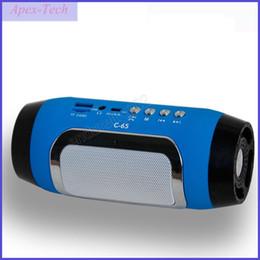 Radio pour la maison en Ligne-HIFI Portable sans fil Bluetooth Haut-Parleur Stéréo Soundbar TF FM Radio Musique Subwoofer Colonne Haut-parleurs pour Téléphones Ordinateurs