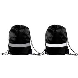 Canada Sacs à dos à cordon - Paquet de 10 sacs à dos réfléchissants Sac de sport Sport Cinch Sac Tissu de voyage Sacs à dos à cordon Offre