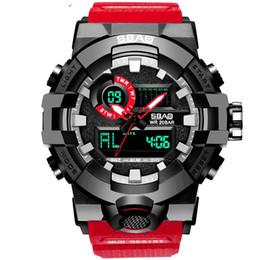 Herren-gummi-touch-led-uhr online-2019 Luxury Fashion Unisex Mens Studentinnen Design Sport Gummi Digital Touch LED Uhren Mode Kinder Kinder Outdoor-Armbanduhren