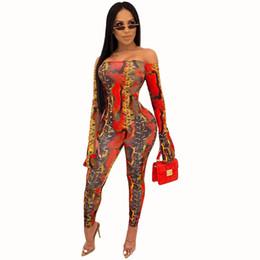 mulheres do bodysuit do laço da luva cheia Desconto comprimento total sexy barra snake print jumpsuits pescoço senhora catsuits skinny praia jumpsuits sensuais MH6107