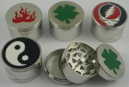Dh accessoires en Ligne-DH SHOP Moulin à métaux DK5175 Les broyeurs de tabac manipulent le broyeur transparent pour broyeur à fumer mélangent les couleurs de broyeurs à métal Accessoires pour fumeurs