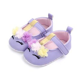 4fce06fbcf2 Newborn Infant Baby Princess Shoes Little Girls Floral Pattern Crib First  Walkers Baby Anti-slip Sneaker For Wedding Party