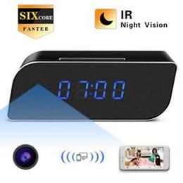 HD 1080 P Sans Fil Wifi IP Sport Sécurité Alarme Caméra Infrarouge Télécommande En Temps Réel Vue Réseau Caméra Alarme Horloge Caméra ? partir de fabricateur