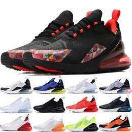 Sapatos de corrida para mulheres cinza on-line-35 cores Parra x 270OG Regência Roxo Ser verdadeiro Branco Pack homens tênis de corrida das mulheres Triplo preto Cinza Ardósia Atmosfera Cinza sapatos de grife