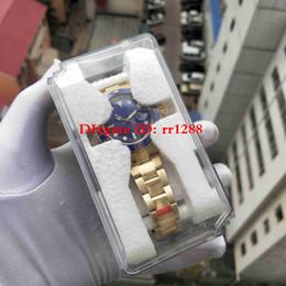 orologio da polso originale Sconti Orologio Super N Factory 116618LB 18K 2813 Vetro zaffiro movimento 40mm 116613 116618 Orologi da uomo Orologi da polso con nuova scatola di plastica originale