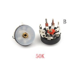 droite potentiomètre Promotion Commutateur Accessoires Commutateurs 10PCS angle droit Radio RV12MM B503 B50K Potentiometer amplificateur de puissance Volume POTENTIOMETRE Swi ...