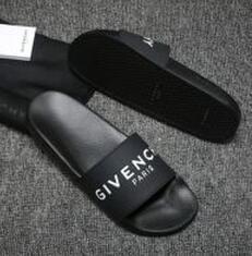2019 pantofole in gomma per le donne nuovo caldo DONNA uomini gomma scorrevole sandalo floreale broccato uomini pantofole fondo pantaloni infradito donne spiaggia a strisce pantofola causale pantofole in gomma per le donne economici