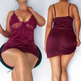 Röcke seidenblumen online-Normallacknähenwimper-Spitzehaken-Blumensimulationsseidenrobe reizvoller Spaß V-Ansatz Bügelkleidnachtklub kleidet reizvolle Röcke