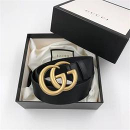 2019 cinturones xl para hebillas negro 2018 caja Original Hot Black Luxury High Quality Designer Belts Fashion Tiger patrón de animales hebilla de cinturón para hombre cinturón para mujer envío gratis cinturones xl para hebillas negro baratos