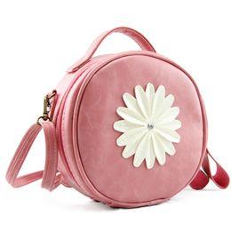 Borse della moneta del fiore borse dei sacchetti online-Borsa cosmetica della borsa della moneta della borsa della borsa della chiusura lampo delle donne della borsa cosmetica delle donne dei fiori della margherita delle borse di modo