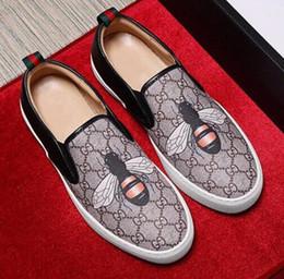 1530c191a Китайские Мужские туфли из натуральной кожи роскошные повседневные туфли  лоферы слип на итальянском бренде дизайнерские мужские