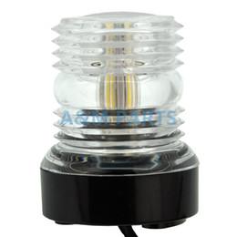 2019 lámpara de anclaje All Round Light Marine Boat Yacht Light Anchor Navigation Lámpara 360 LED lámpara de anclaje baratos